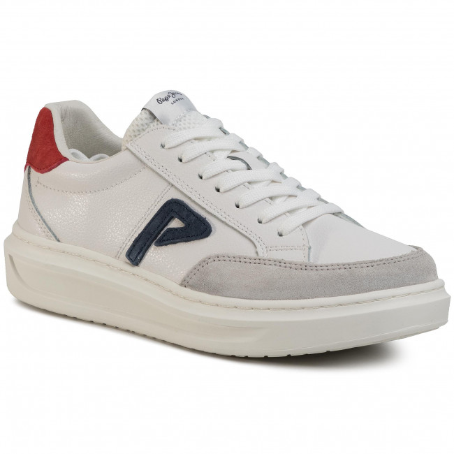 Sneakers PEPE JEANS Abbey Arch PLS30963 White 800