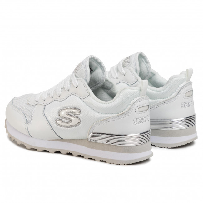Sneakers SKECHERS Goldn Gurl 111WSL WhiteSilver
