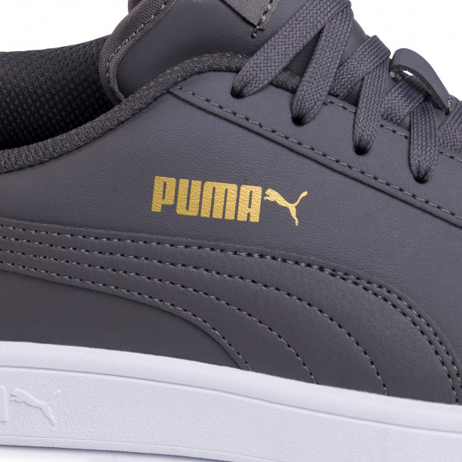 Sneakers PUMA - Smash V2 L 365215 20 Castlerock/Team Gold/White - Sneakers - Lågskor - Herrskor