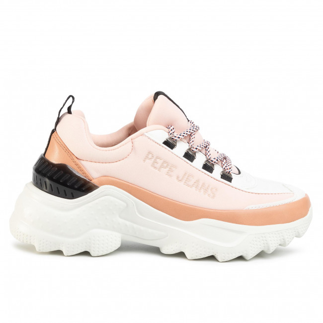 Sneakers PEPE JEANS Eccles Fast PLS31002 Light Peach 108