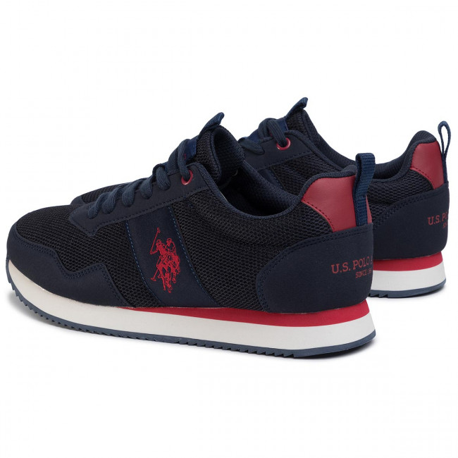 Sneakers U.S. POLO ASSN. Exte NOBIL4250S0MH1 DkblRed