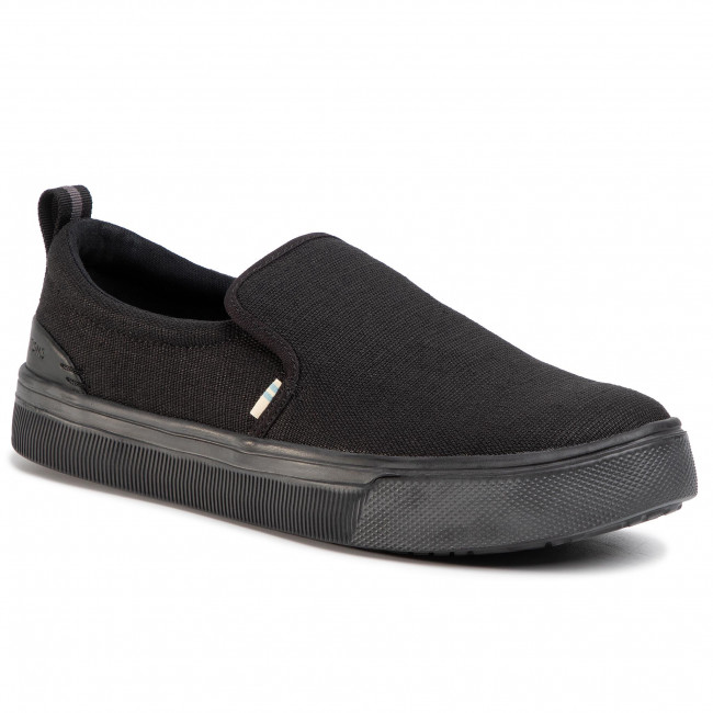 Sneakers TOMS Trvl Lite Slip On 10013275 BlackBlack Heritage Canvas