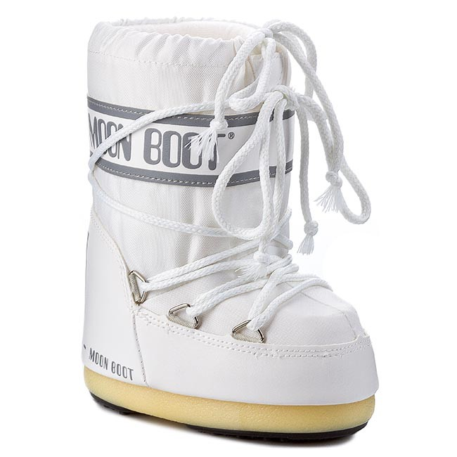Vinterskor MOON BOOT Nylon 14004400006 Bianco M