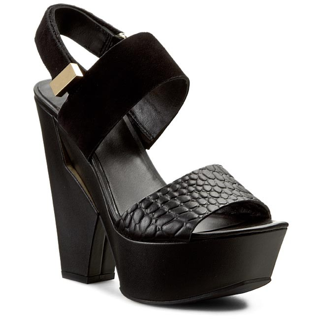Sandaler GUESS - BY MARCIANO FL2TRP SUE03 BLACK