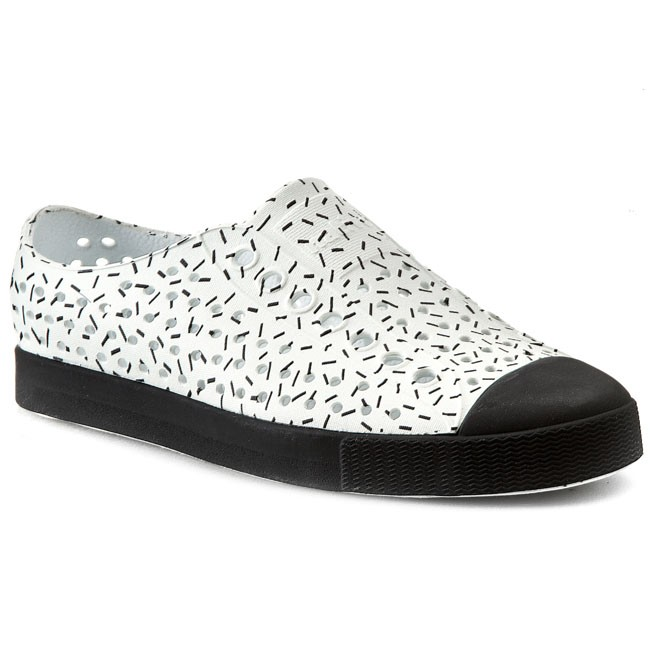 Sneakers NATIVE - Jefferson Shell White/Sprinkle Print