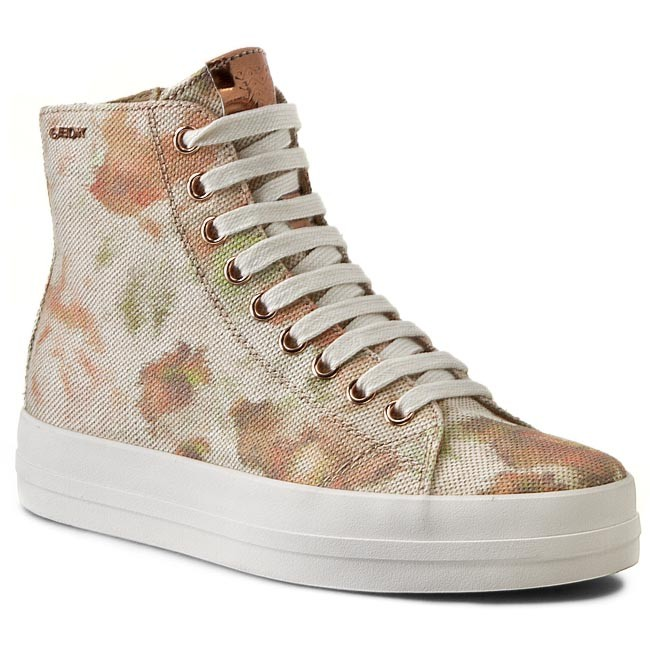 Sneakers GEOX - D Hidence A D4234A 000AW C5102  Caramel