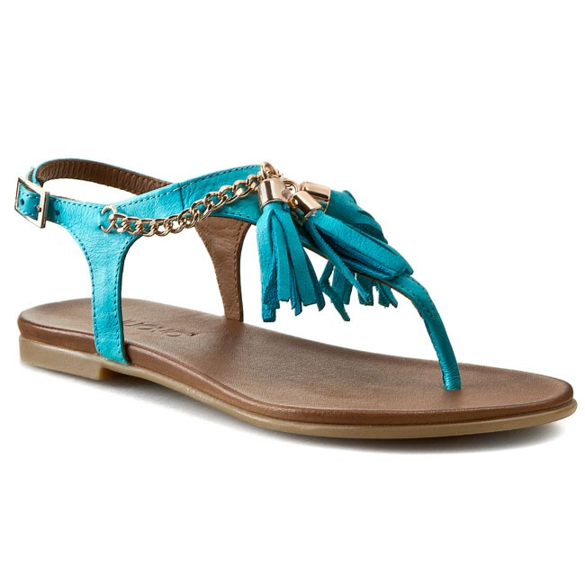 Sandaler INUOVO - Marrakech 5223  Turquoise Leather