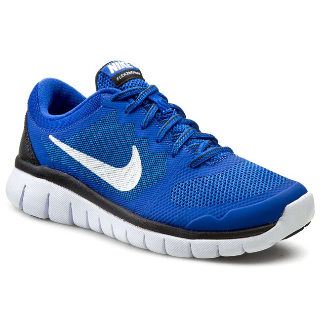 Skor NIKE - Flex 2015 Rn 724988 400 Game Royal/Mtllc Silver/Black