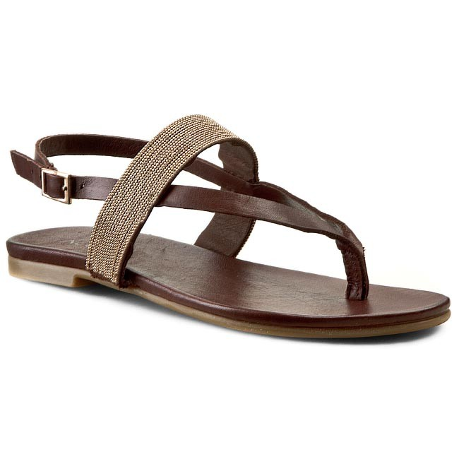 Sandaler INUOVO - Cannes 5109 Dark Brown Leather