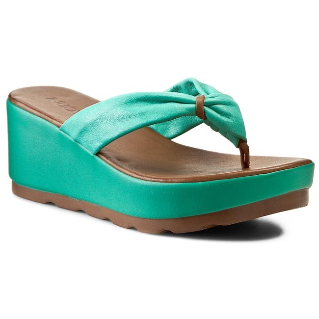Sandaler INUOVO - Crystal 5089  Green Leather