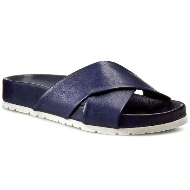 Sandaler INUOVO - Sweetheart 5236  Navy Leather