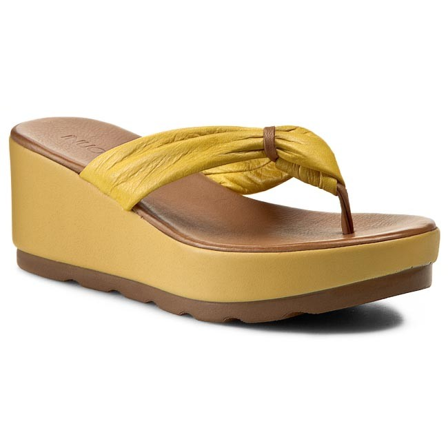 Sandaler INUOVO - Crystal 5089  Yellow Leather