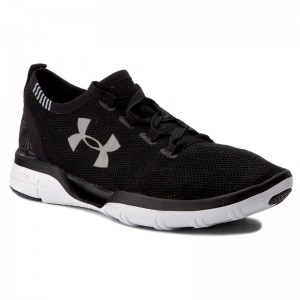 new concept eb308 78b68 Skor UNDER ARMOUR - Ua Charged Coolswitch Run 1285485-001 Blk Wht Wht