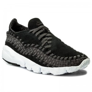 sports shoes c5a36 820df Skor NIKE - Air Footscape Woven Nm 875797 001 Black Black Anthracite White