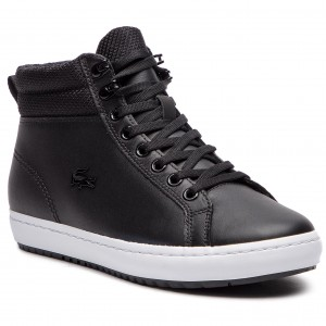 bcea24f715d Sneakers LACOSTE - Straightset Insulatec 3181 Caw 7-36CAW0044312 Blk/Wht