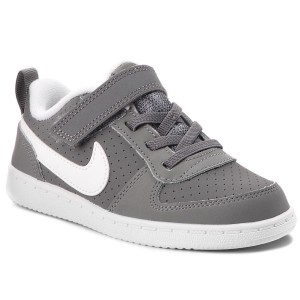 separation shoes 1b2b4 ef75b Skor NIKE Court Borough Low (TDV) 870029 002 Cool Grey White