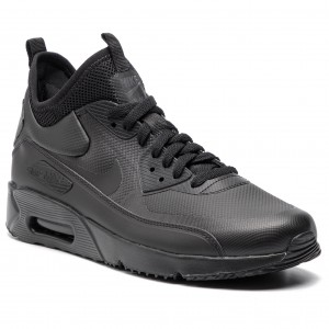 75a1433db6212e Skor NIKE - Air Max 90 Ultra Mid Winter 924458 004 Black Black Anthracite