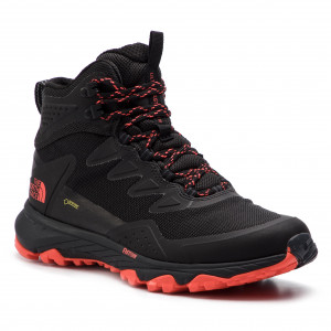 Trekking-skor THE NORTH FACE Ultra Fastpack III Mid Gtx GORE-TEX T939ITAMJ  Tnf Black Fiery Coral 61641eb837bfb