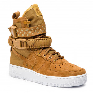low priced f8485 e4f53 Skor NIKE - W Sf Af1 857872 203 Muted Bronze Muted Bronze