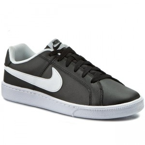 super popular 054f3 4d194 Skor NIKE Court Royale 749747 010 Black White