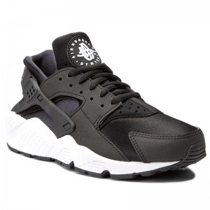 sale retailer 2d76e 75802 Skor NIKE Air Huarache Run 634835 006 Black Black White