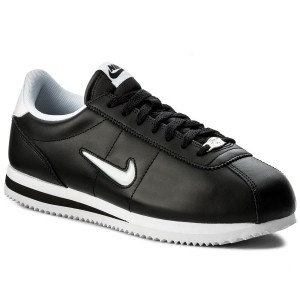 best sneakers ed7bb dfb9e Skor NIKE - Cortez Basic Jewel 833238 002 Black White