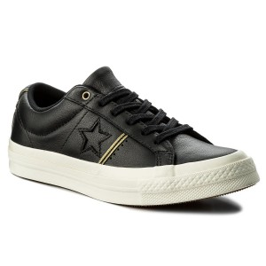 Sneakers CONVERSE One Star Ox 159701C BlackGoldEgret