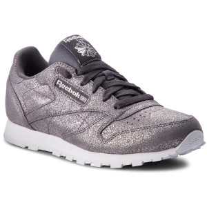 new concept a3c84 ad6a3 Skor Reebok Classic Leather CN5587 Pewter Ash Grey White