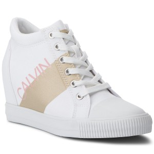 huge discount 61272 8a4d1 Sneakers CALVIN KLEIN JEANS Roxanna RE9806 White Gold