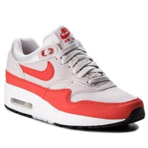 new product 13176 27d87 Skor NIKE - Air Max 1 319986 035 Vast Grey Habanero Red