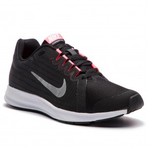 separation shoes 6aa98 8c045 Skor NIKE Downshifter 8 (GS) 922855 001 Black Metallic Silver