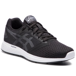 best cheap f8b84 25e47 Skor ASICS Patriot 10 Gs 1014A025 Black White 004
