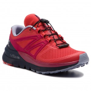 separation shoes 613b5 7a1d0 Skor SALOMON - Sense Max 2 W 406902 20 V0 Hibiscus Evening Blue Cerise