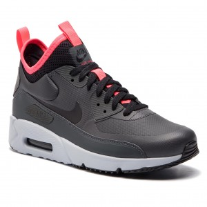 low priced 3b326 9ea09 Skor NIKE - Air Max 90 Ultra Mid Winter 924458 003 Anthracite Black Solar