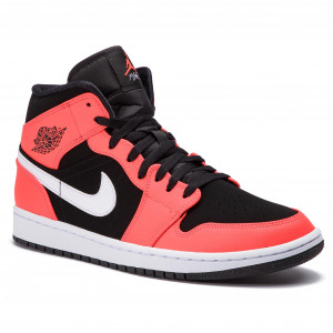 best service e7d47 8a40f Skor NIKE - Air Jordan 1 Mid 554724 061 Black Infrared 23 White