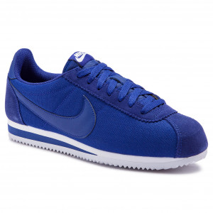 watch f0fa4 bbbd0 Skor NIKE - Classic Cortez Nylon 807472 407 Deep Royal Blue