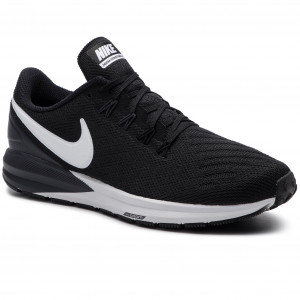 the best attitude c1f6e 01846 Skor NIKE - Air Zoom Structure 22 AA1640 002 Black White Gridron