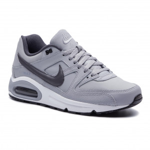 new styles 10fef 42762 Skor NIKE - Air Max Command Leather 749760 012 Wolf Grey Mtlc Dark Grey