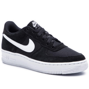best website c807e 63627 Skor NIKE Air Force 1 Pe (Gs) BV0064 001 Black White