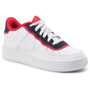 on sale fc736 eac84 Skor NIKE - Air Force 1 Lv8 1 Dbl Gs BV1084 101 White White