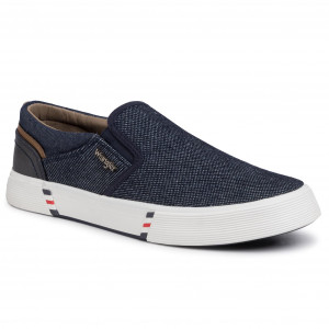 Sneakers WRANGLER Monument Slip On WM01002A Blue Japan 559